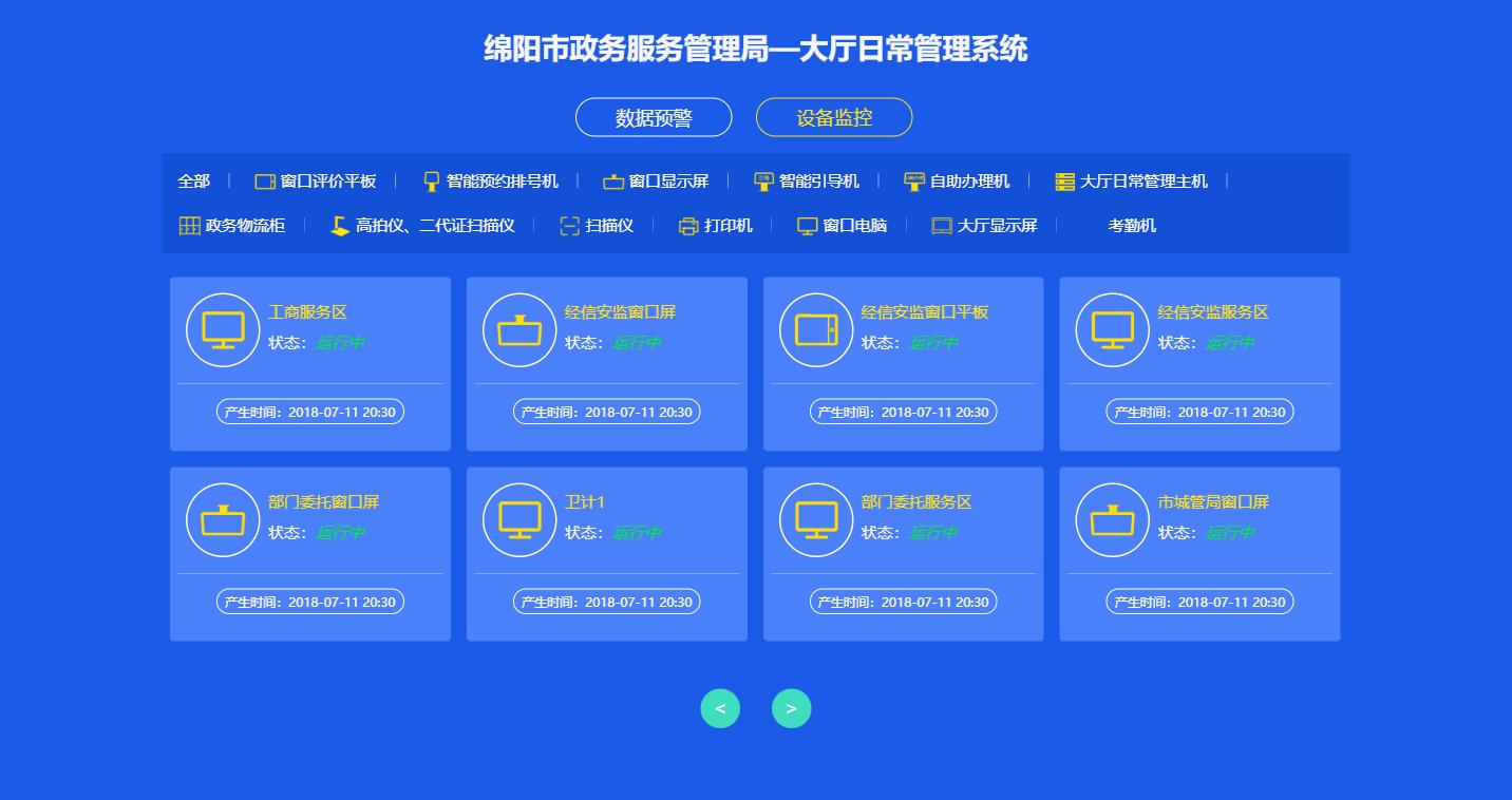 身份通认证系统_绵阳市一体化网上政务服务平台——成功案例
